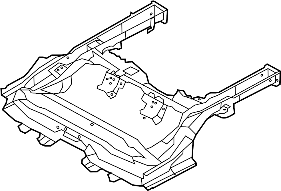 2002 Pontiac Grand Prix Front End Diagram