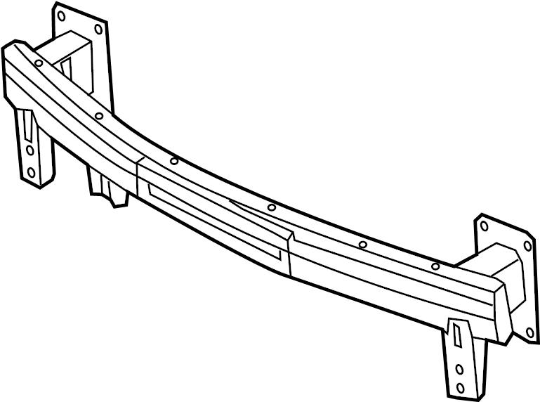 865303x101 - hyundai rail assembly