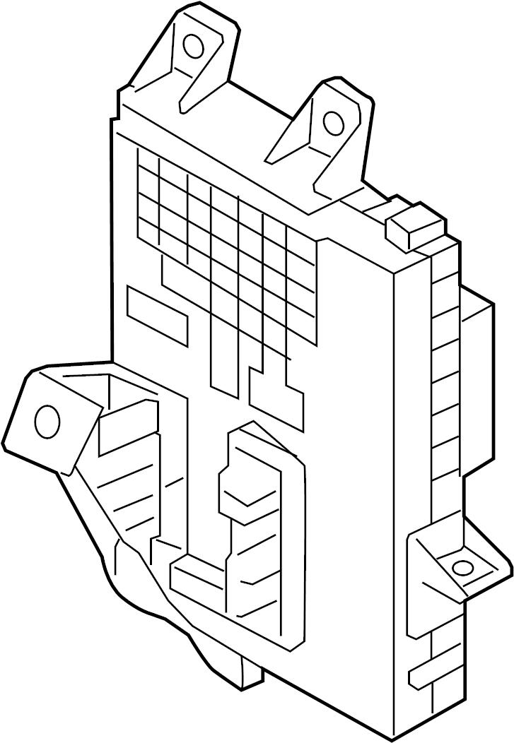 2012 hyundai junction box assembly - i  pnl  unlockg  isg  ipnl