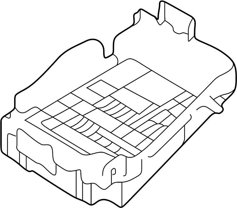 2012 Hyundai Junction Box Assembly  Pnl  Unlockg  Ipnl
