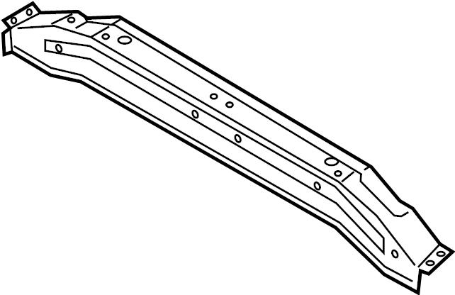 hyundai i30 extension assembly rear   rear  rr    floor