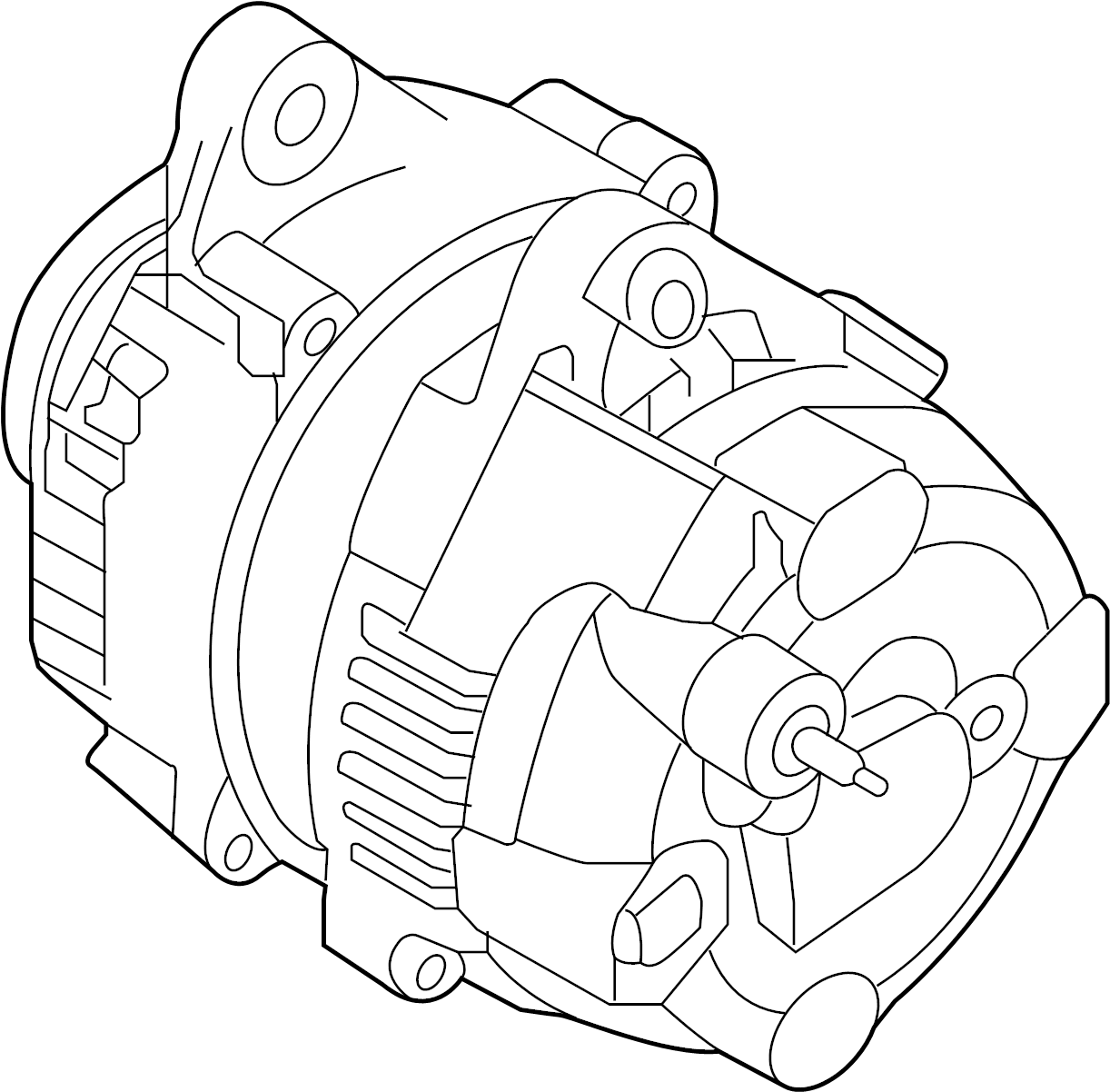 2012 hyundai generator assembly  micom  ams