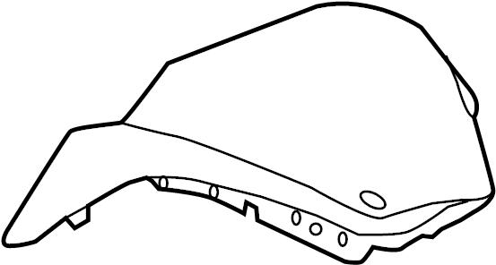 2013 hyundai santa fe instrument panel components