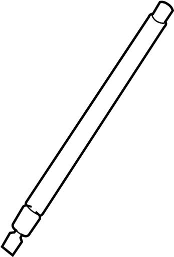 hyundai santa fe hatch lift support  lift cylinder