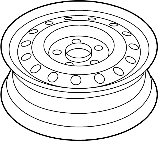 2016 hyundai wheel assembly - temporary  wheels  covers  spare