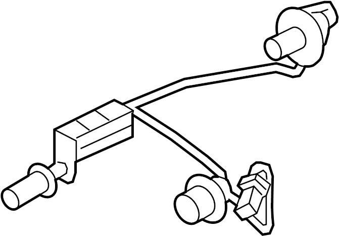2015 hyundai veloster holder  u0026 wiring rear   rear  rr