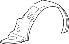 GUARD ASSEMBLY - FRONT WHEEL RIGHT ( RIGHT HAND )
