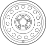 WHEEL ASSEMBLY - ALUMINIUM