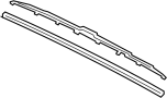 983503X550 BLADE ASSEMBLY - WIPER, DRIVER SIDE